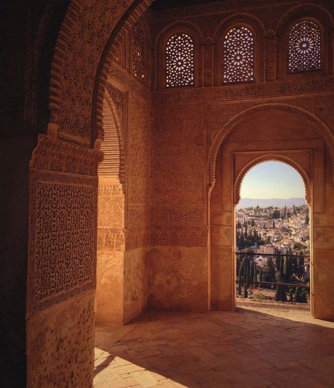 Guidad tur i Alhambra på konferensresa