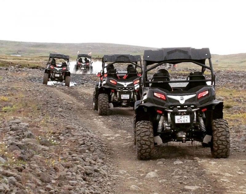 Bergssafari med fyrhjuling utanför Reykjavik
