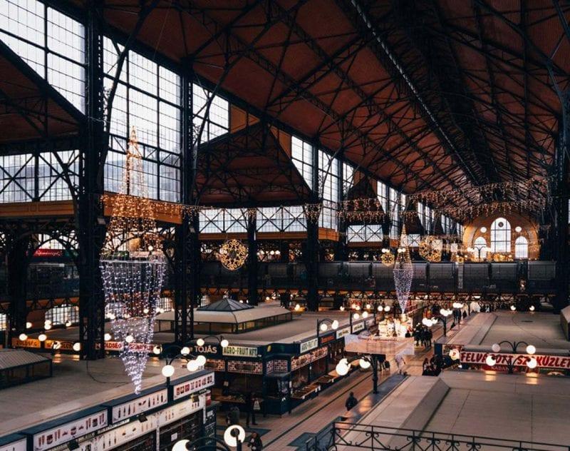 matupplevelse i Budapest främsta saluhall