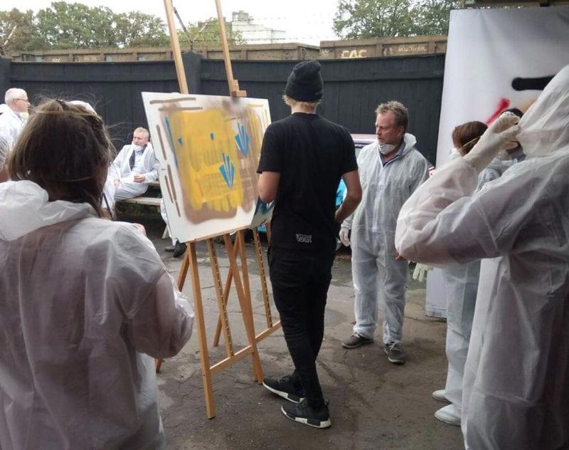 Graffitti workshop i Riga