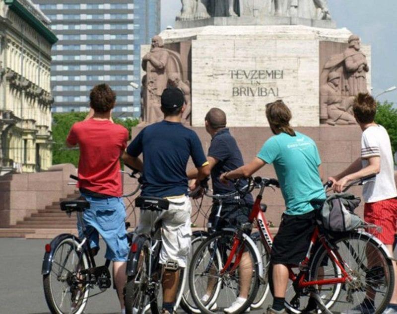 guidad cykeltur i Riga