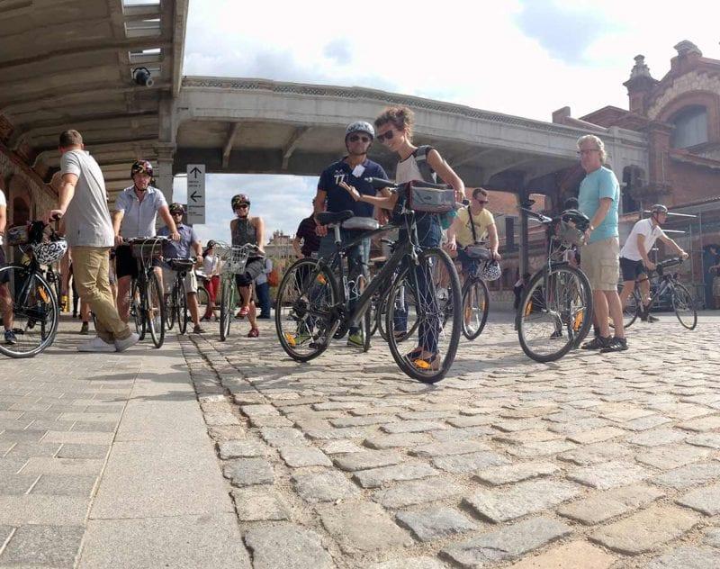 Guidad cykeltur i Madrid är den perfekta gruppaktiviteten