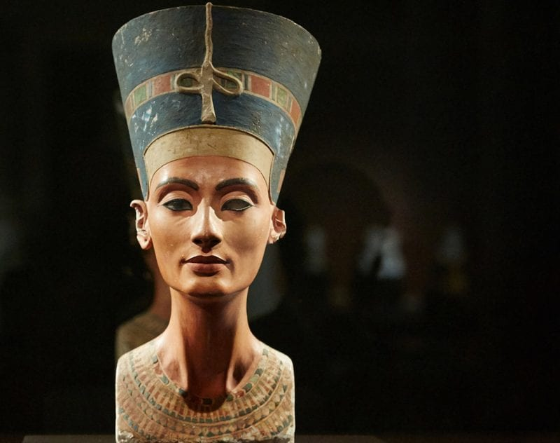 Nefertitis byst på konferensresa Berlin