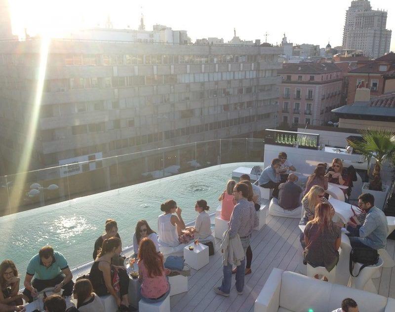 Upplev Madrid från ovan