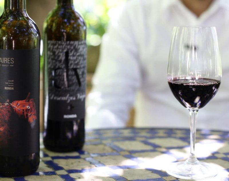 Vinprovning i Granada