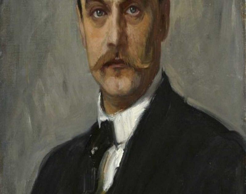 självporträtt Albert Edelfelt