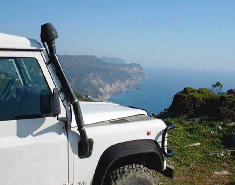 Jeepsafari i Sintrabergen