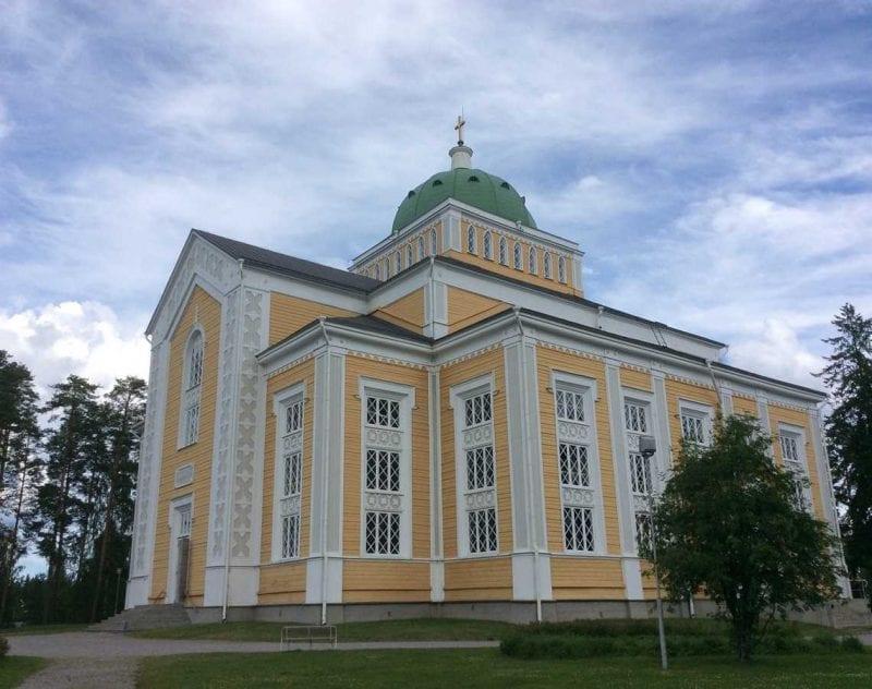Träkyrkan Kerimekki i Savonlinna