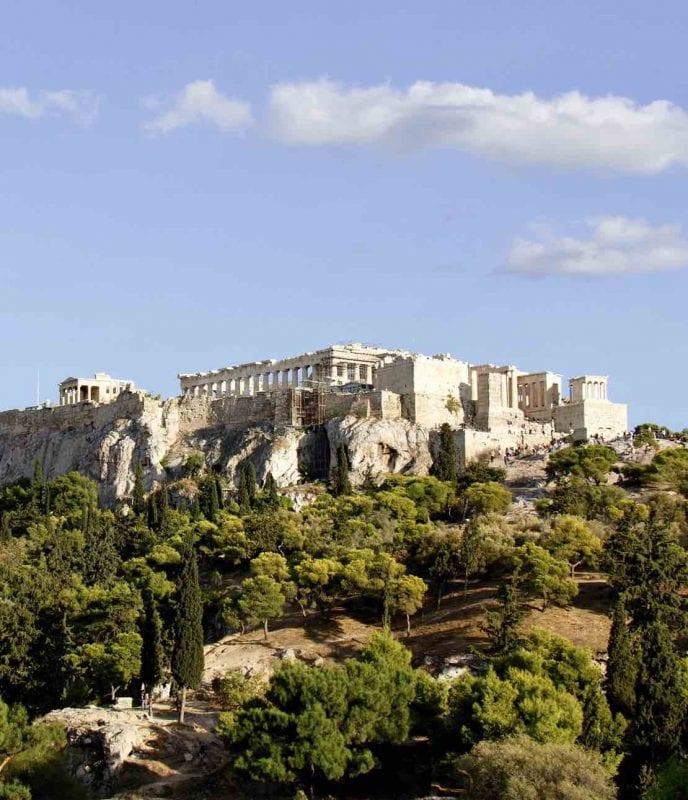 Utsikt från konferensrum Akroplis i Aten