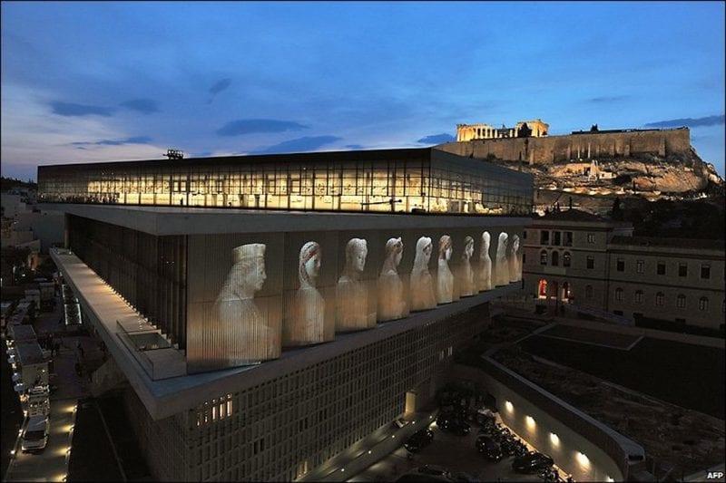 Ett besök på Akroplismuseet med arkeolog