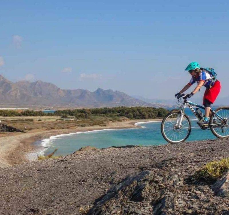 Guidad cykeltur utanför Alicante
