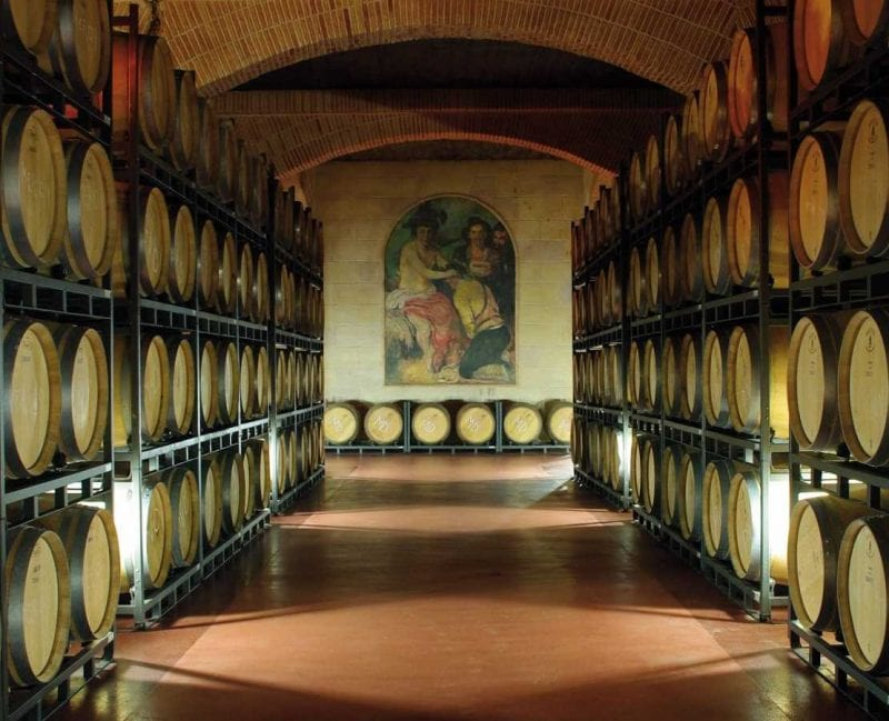 Besök vingård utanför Alicante