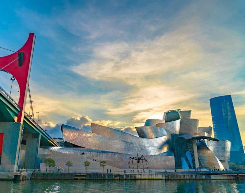 Besök på Guggenheimmuseet i Bilbao