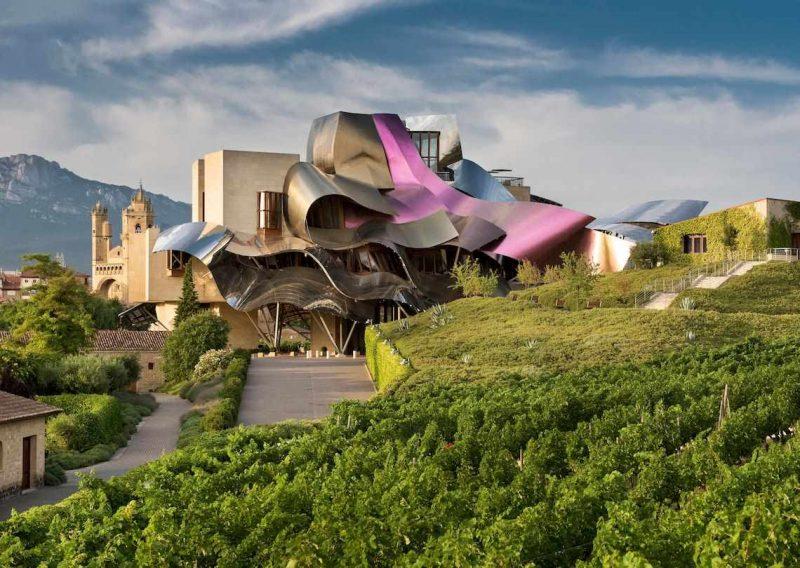 Besök på Marques de Riscal i Rioja