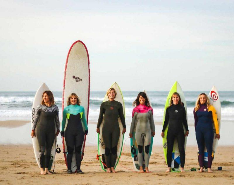 Surflektion på konferensresan till San Sebastian